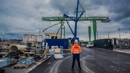 Wolfurt: Zweiter Meilenstein am Güterterminal abgeschlossen