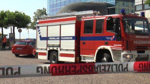Bombenalarm in Friedrichshafen: Offenbar keine Bombe gefunden