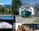 Vorarlberg: Containerbrand in Lochau