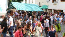 Der Nachtflohmarkt war zu Gast in Schruns!