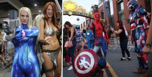 Schrill und bunt - Die Comic-Con