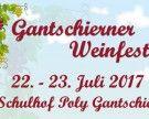Gantschierner Weinfest