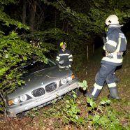 Vorarlberg: Betrunkener Autofahrer fährt über Weide in Viktorsberg und stürzt mit Pkw ab
