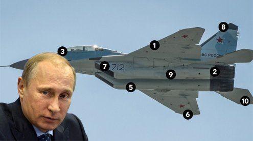 Putins neuer Super-Kampfjet ist mit einer Laser-Waffe bestückt!
