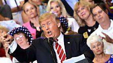 """Trump verteidigt """"perfekte"""" Worte"""