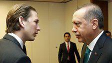 """Türkei: Kurz ist """"Symbol rassistischer Politik"""""""