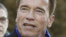 """Arnie vs. Trump: """"Kein Platz für Nazi-Flaggen"""""""