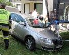 Vorarlberg: Senior stürzt mit Auto in Garten
