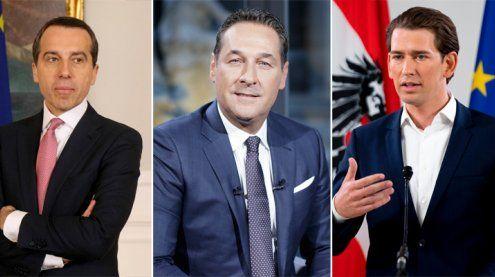 Nationalratswahl 2017: Die Spitzenkandidaten im Portrait