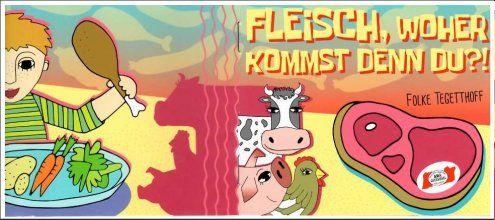 """Kinderbuch erklärt: """"Schweine wollen gerne Schnitzel werden"""""""