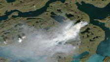 Große Flächenbrände auf Grönland gelöscht