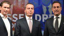 Dreier-Koalition: Klare Absage von Strache
