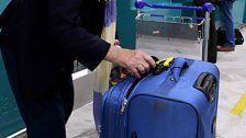 Kofferanhänger über Monate vertauscht