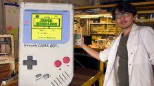 XXL Game Boy: Student ergattert Weltrekord