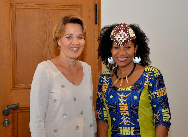 Partnerschaft mit Afrika – Königlicher Besuch in Dornbirn