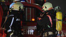 Auto in Feldkirch-Nofels brennt komplett aus