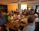 Sportliche Pensionisten im Hallenbad Bregenz