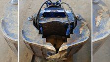 500 Kilo schwerer Bagger-Steingreifer gestohlen