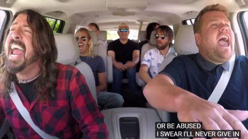 Carpool Karaoke mit den Foo Fighters