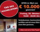 Ofen im Wert von €10.000 gewinnen!