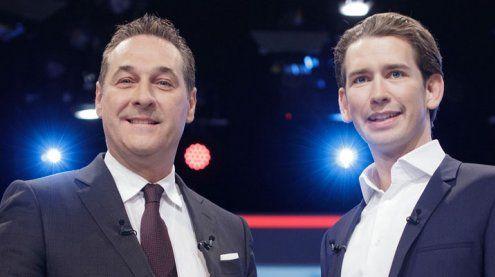 """""""Geheimes Treffen"""" zwischen Kurz und Strache"""